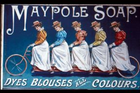 Vintage advertisment poster - Maypole soap